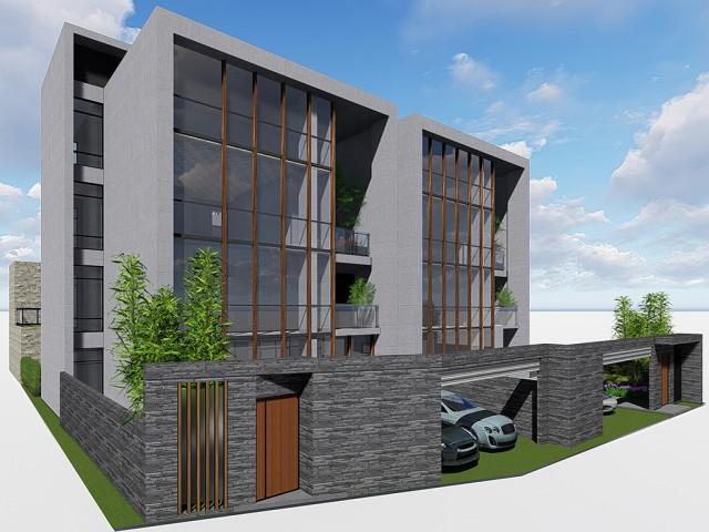 陽光山林住宅設計提案